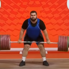 """2.4.2 In both lifts, the Referees must count as """"No lift"""" any unfinished attempt in which the barbell has reached the height of the knees."""